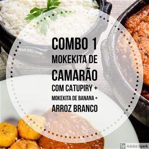 COMBO 1 / CAMARÃO [INTEIRA]